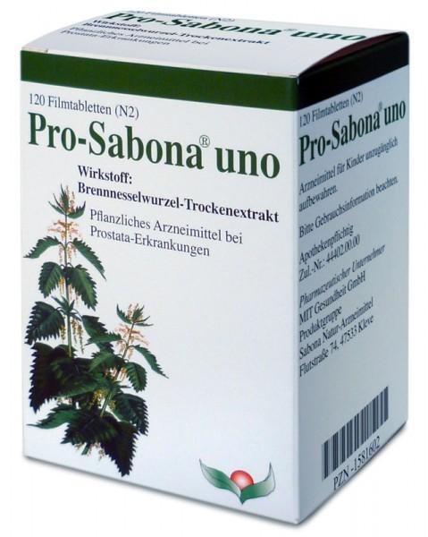 Pro-Sabona® uno Filmtabletten