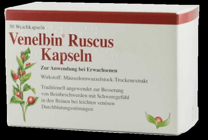 Venelbin® Ruscus Kapseln